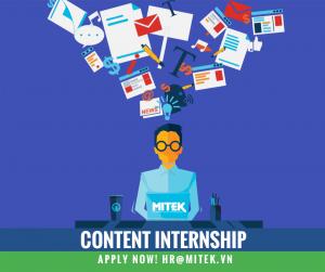 Content Internship