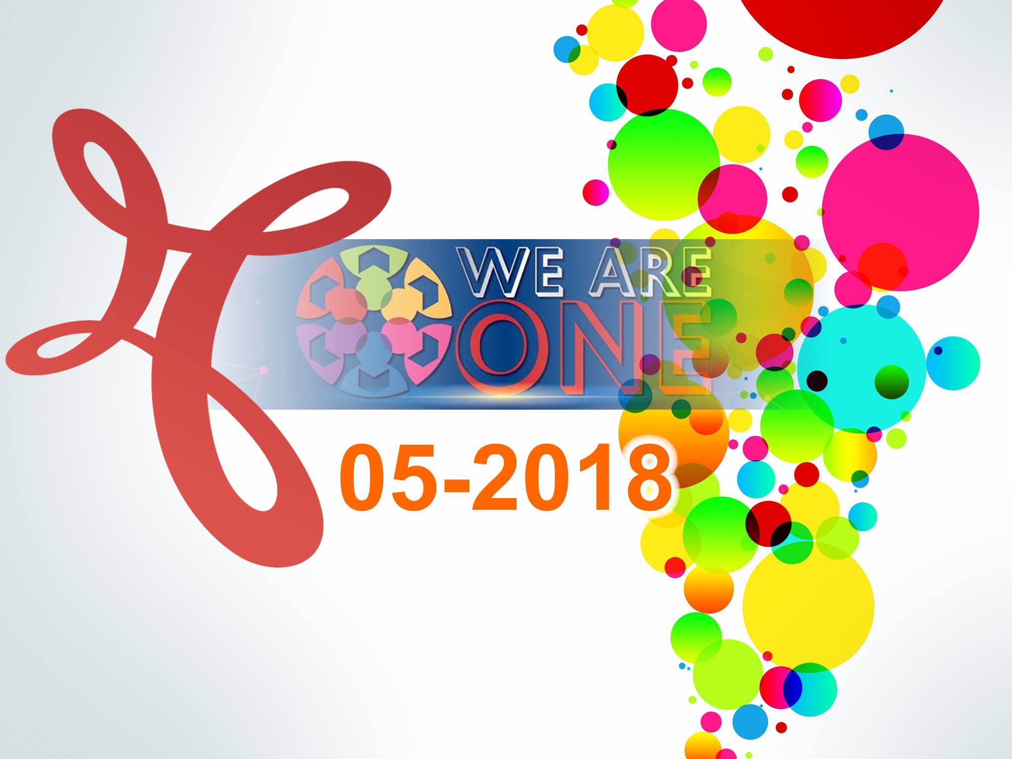 WE ARE ONE - MSC 05-2018